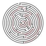 Maze solved by Austin